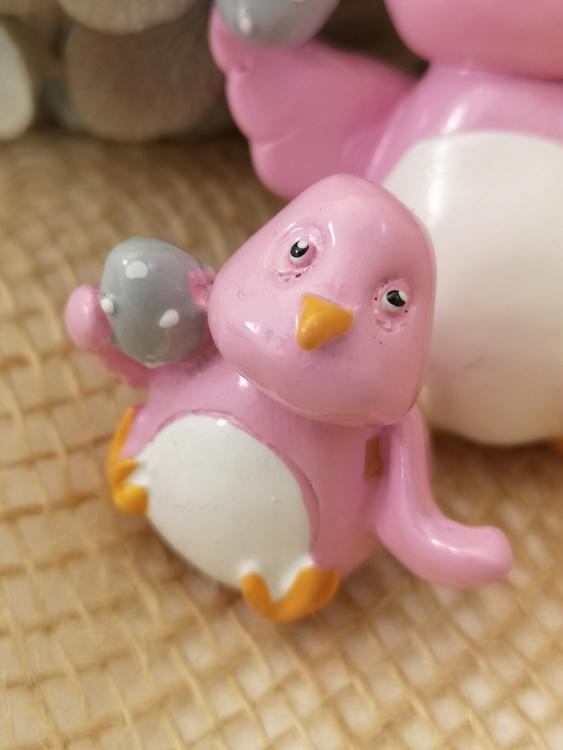 Påskkyckling i rosa