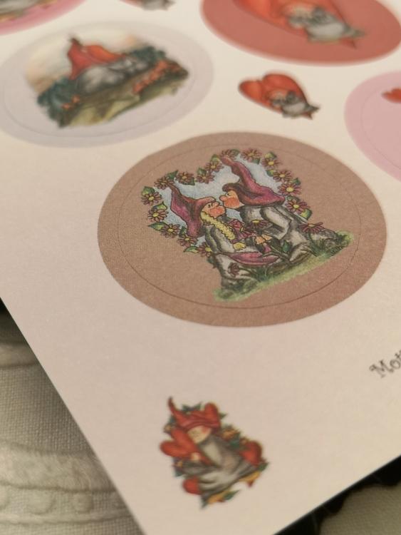 Stickers i rosa
