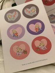 Stickers med änglar