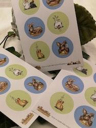 Stickers, bondgårdsdjur