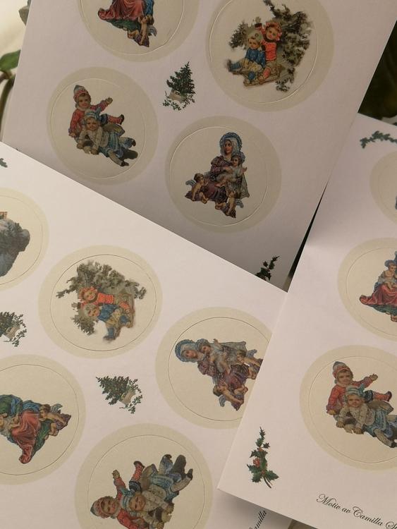 Stickers, Dåtid jul