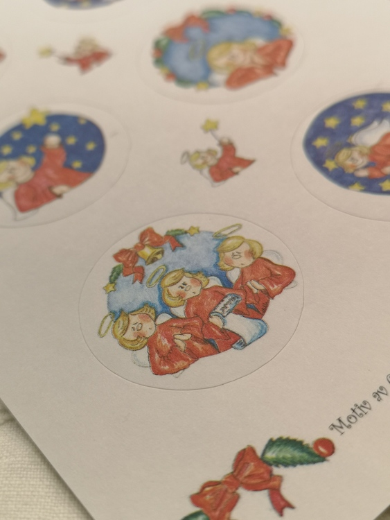 Stickers, julänglar
