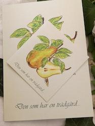 Trädgårdskort, grönt