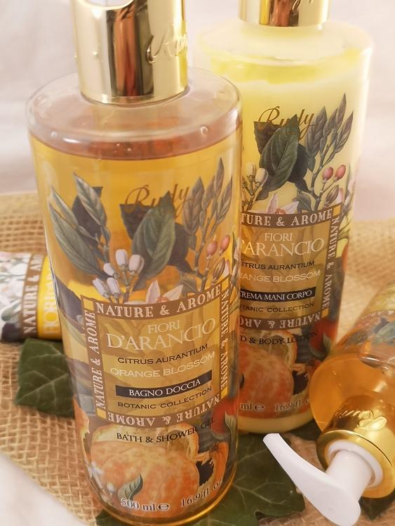 Dusch & badtvål, apelsinblomma