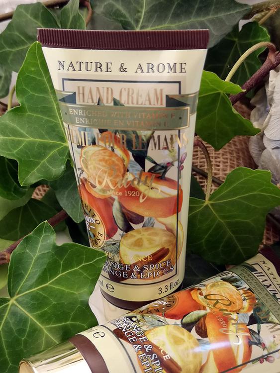 Apothecary Hand Cream Orange & Spice