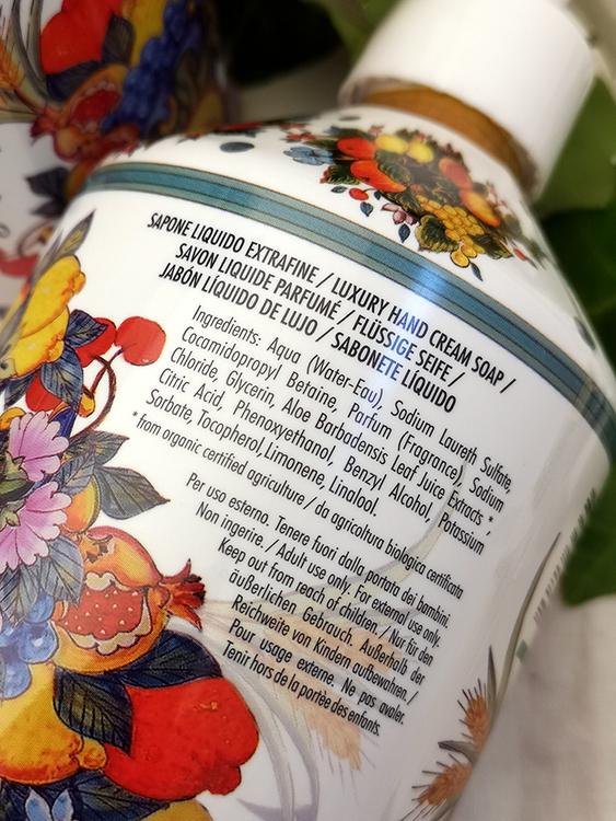 Maioliche Liquid Soap, Sicilian Orange Blossom