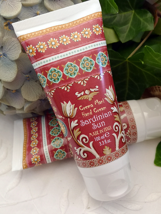 Maioliche Hand Cream Sardinia Sun