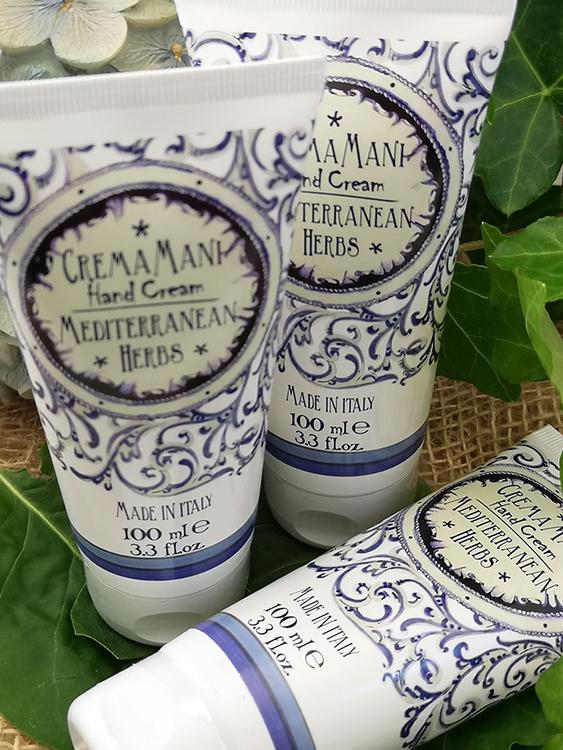 Maioliche Hand Cream Mediterranean Herbs