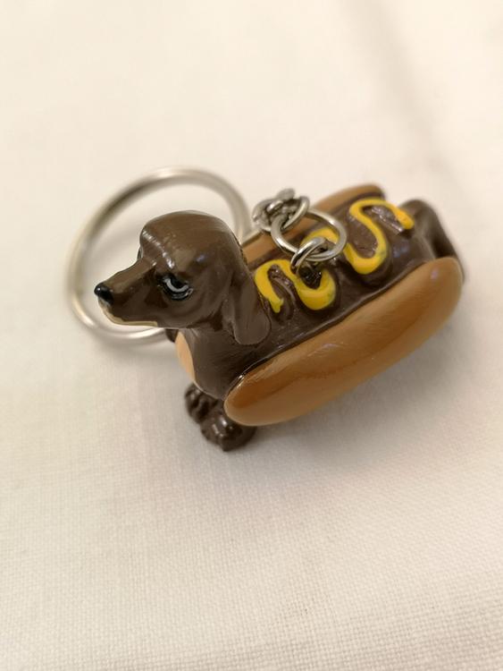 Nyckelring, Hot Dog