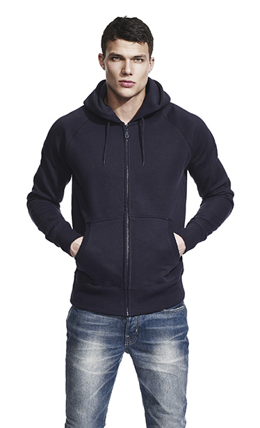 Men´s Raglan Zip-Up Hoody N51Z