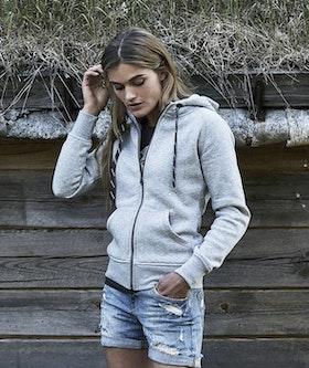 Fashion Full Zip Hood Dam