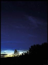 Poster Stjärnhimmel