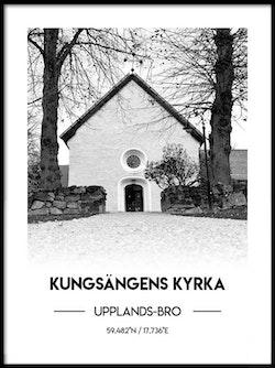 Poster Kungsängens kyrka