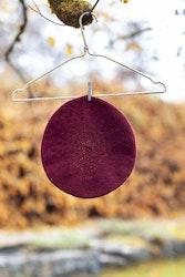 Blanka basker - Vinröd