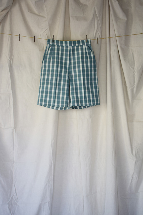 Edit shorts - Grön