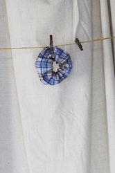 Scrunchie - Ljusblå