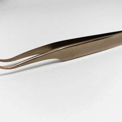 Pincett Böjd Brons
