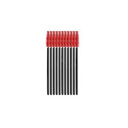 Mascara Borstar Röd/Svart 20-pack
