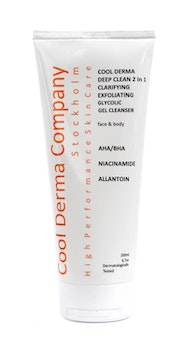 Cool​ ​Derma​ ​DEEP​ ​Clean​ ​2​ ​in​ ​1​ ​Exfoliating​ ​Gel​ ​Cleanser