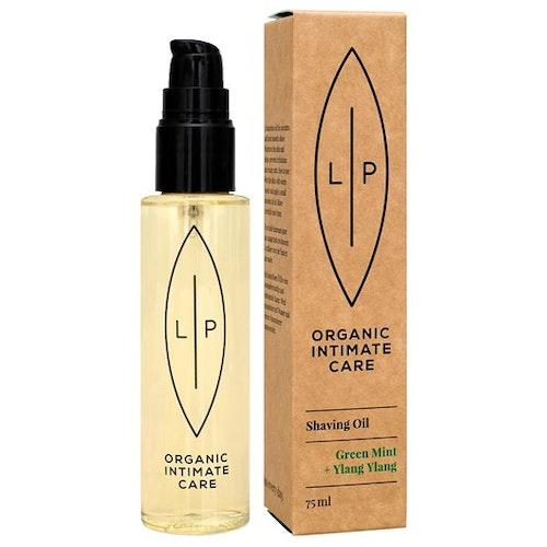 Lip Intimate Care Shaving + Moisturising Oil, Green Mint + Ylang Ylang