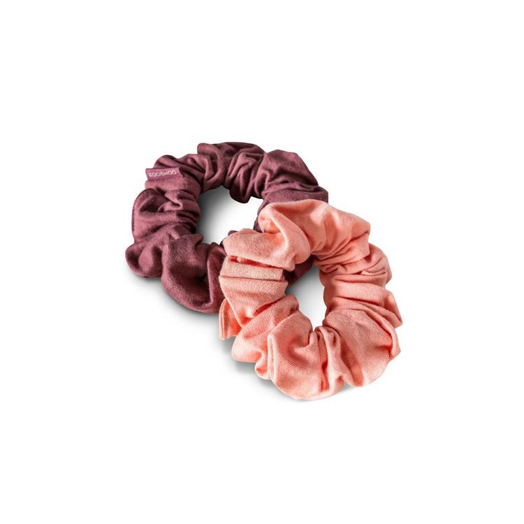 Organic Scrunchies by KOOSHOO - Coral Rose