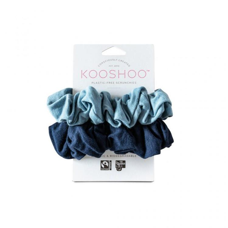 Organic Scrunchies by KOOSHOO - Evening Sky