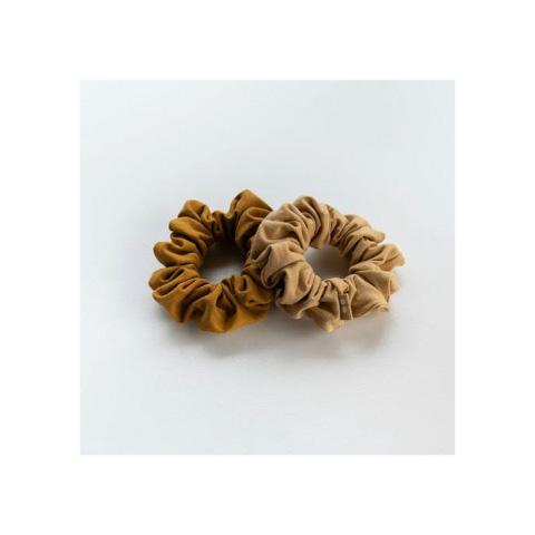 Organic Scrunchies by KOOSHOO - Gold Sand