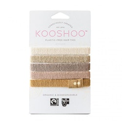 KOOSHOO Organic Hair Ties - Blond