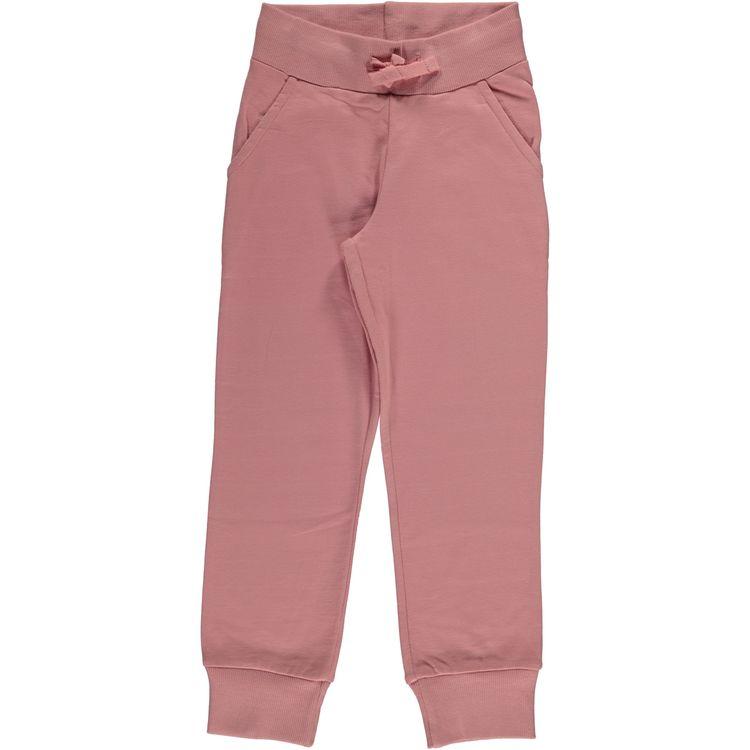 """Maxomorra Byxa """"Sweatpants Dusty Pink"""""""