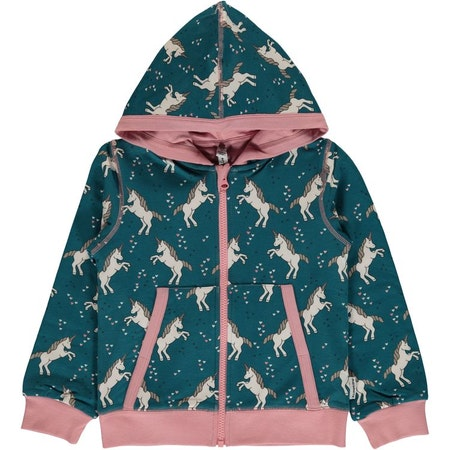 "Maxomorra ""Cardigan Hood Unicorn"""