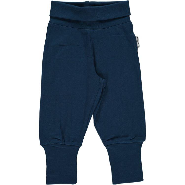 "Maxomorra Byxa ""Pants Rib Dark Blue"""