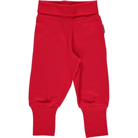 "Maxomorra Byxa ""Pants Rib Red"""