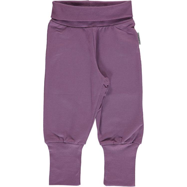 "Maxomorra Byxa ""Pants Rib Dusty Purple"""
