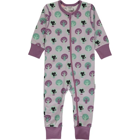 Maxomorra Pyjamas Rompersuit Zip Park