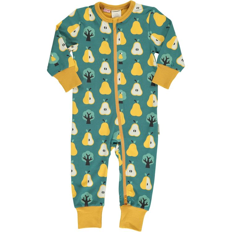 Maxomorra Pyjamas Rompersuit Pear