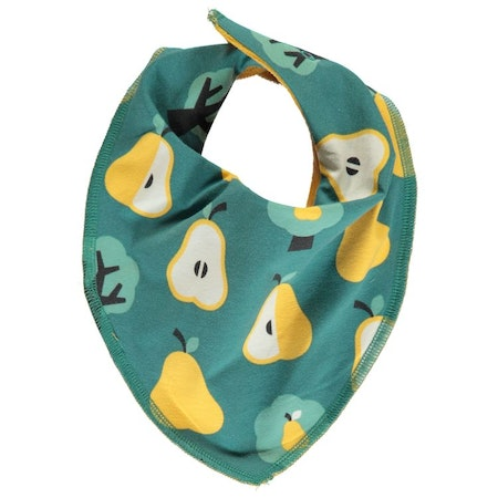 Maxomorra Dregglis Bib Dribble Golden Pear