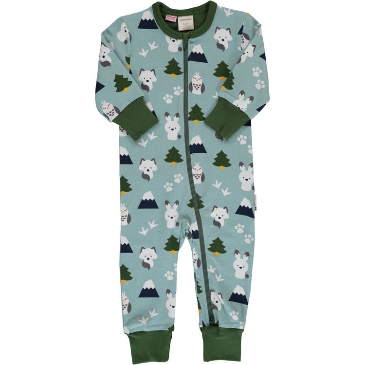 Maxomorra Pyjamas Rompersuit Winter World