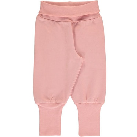 Maxomorra Byxa Pants Rib Dusty Rose