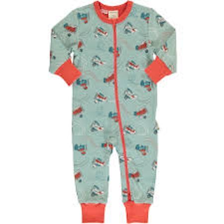 Maxomorra Pyjamas Rompersuit Air Show