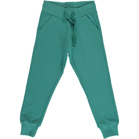 Maxomorra Byxa Sweatpants Teal