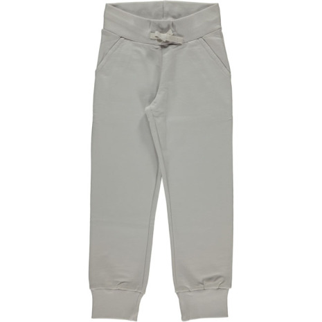Maxomorra Byxa Sweatpants Dusty Grey Ljusgrå