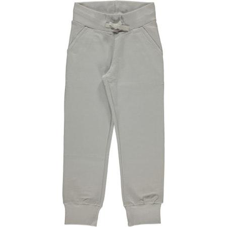 Maxomorra Byxa Sweatpants Dusty Grey Ljusgrå