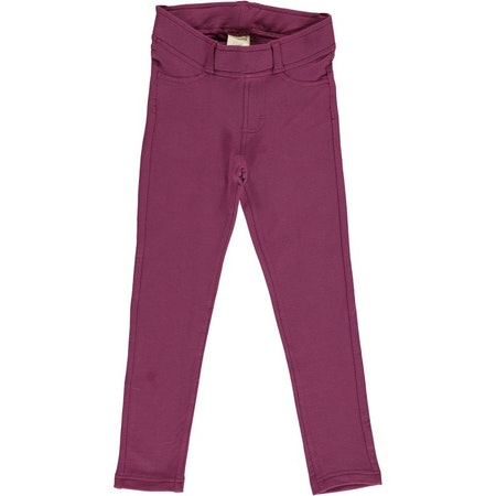 Maxomorra Treggings Sweat Plum