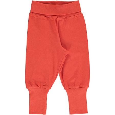 Maxomorra Byxa Pants Rib Solid Rowan
