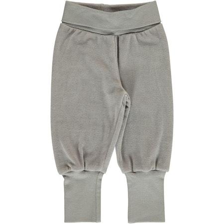 Maxomorra Byxa Pants Rib Solid Dusty Grey