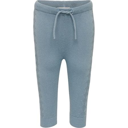 Fixoni stickade byxor Blå
