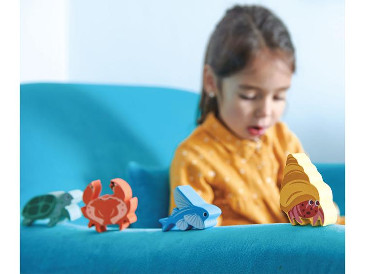 Eremitkräfta i trä, Tender Leaf Toys