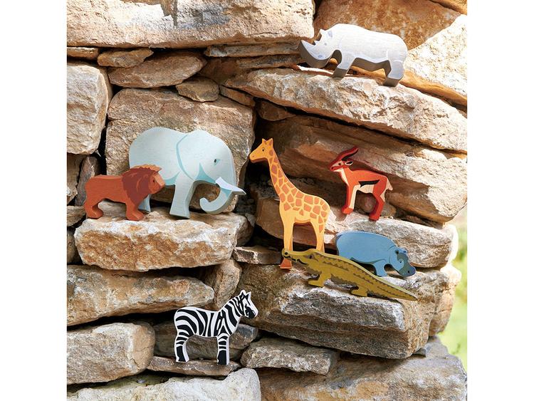 Giraff i trä, Tender Leaf Toys