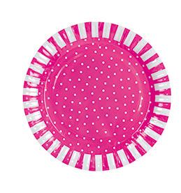 Papptallrik rosa, Jabadabado