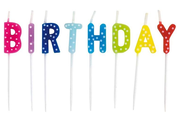 Tårtljus happy birthday, Jabadabado